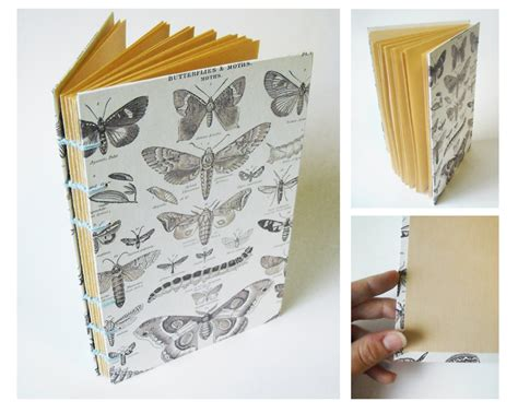 Handmade Sketchbook - handmade sketchbook butterflies and moths by endless