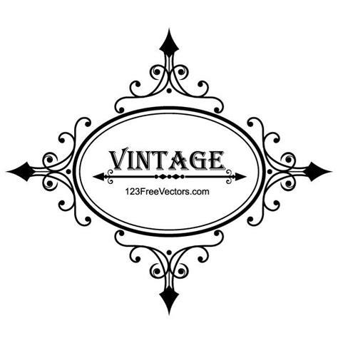 imagenes vectores gratis vintage marco vintage vector graphics descarga en vectorportal