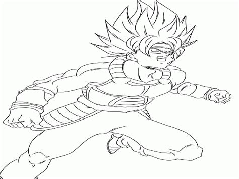 dragon ball z coloring pages bardock dragon ball z coloring pages gohan 489583