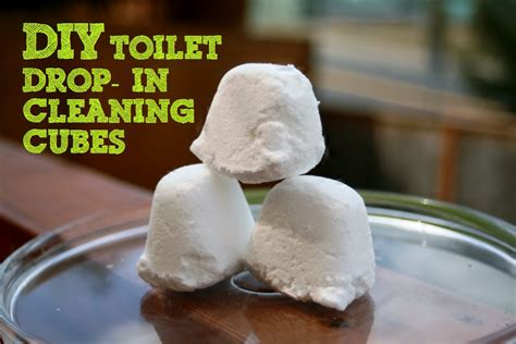 diy toilet bowl drop in cleaning cubes a bada