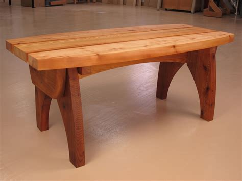 outdoor cedar bench woodworking bench plans curvy cedar outdoor bench