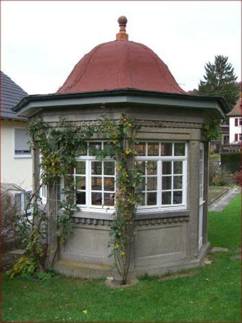 pavillon aus stein gartenpavillon stein