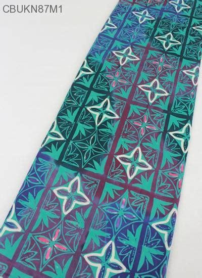 Kain Batik Sarung Batik Katun kain batik cap katun motif gradasi kembang kawung kain