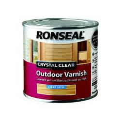 ronseal clear outdoor varnish satin 250ml