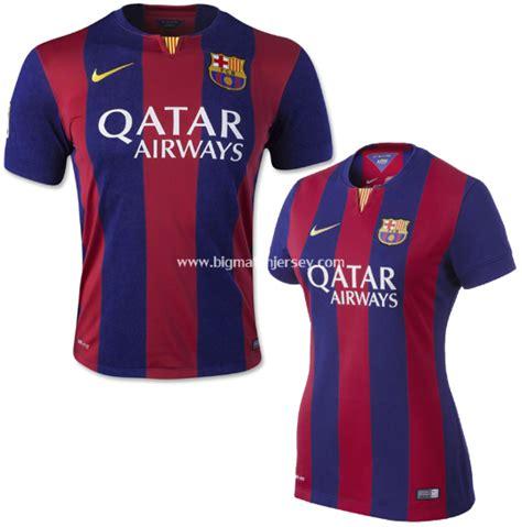 Jaket Baju Pasangan Jacket Nike Barca jersey barcelona home 2014 2015 big match