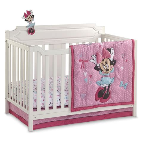Disney Minnie Mouse Crib Bedding Set Minnie Crib Bedding