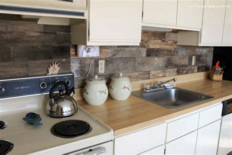 inexpensive backsplash ideas for kitchen 15 inexpensive diy kitchen backsplash ideas and tutorials
