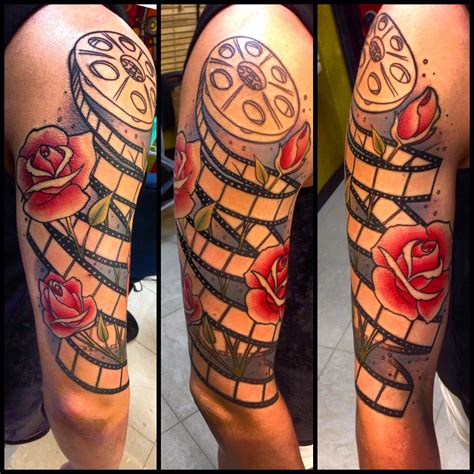 severe ink film reel roses tattoo session 1