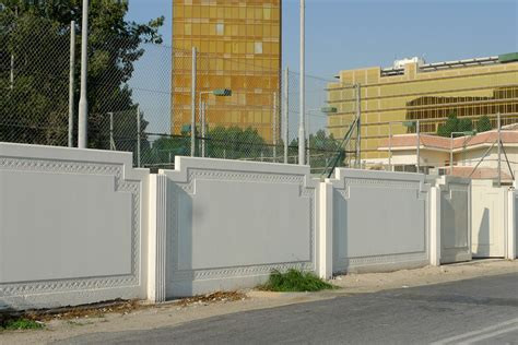 boundary wall design sutra constructions a complete prefab solution in nepal