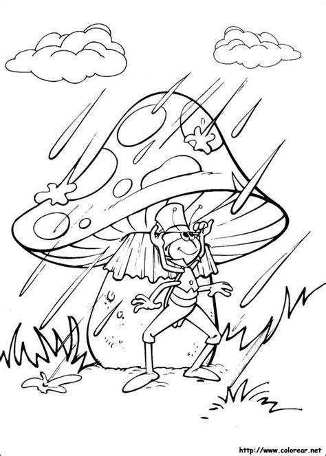 imagenes mayas para colorear dibujos para colorear de abeja maya