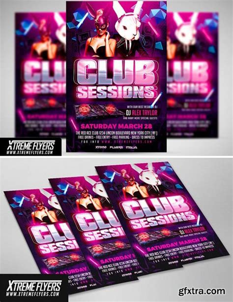 flyer template gfxtra cm club flyer template 1814994 187 download free movies
