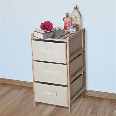 backyard storage units sears small appliances creative lavish home organization wood fabric three drawer unit