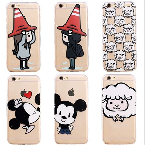 Iphone 5 5s 5g Se Minnie Mouse 3d Casing Soft Casing Bumper minnie mickey mouse tpu back cover for iphone 5 5s 5g phone hat boy and