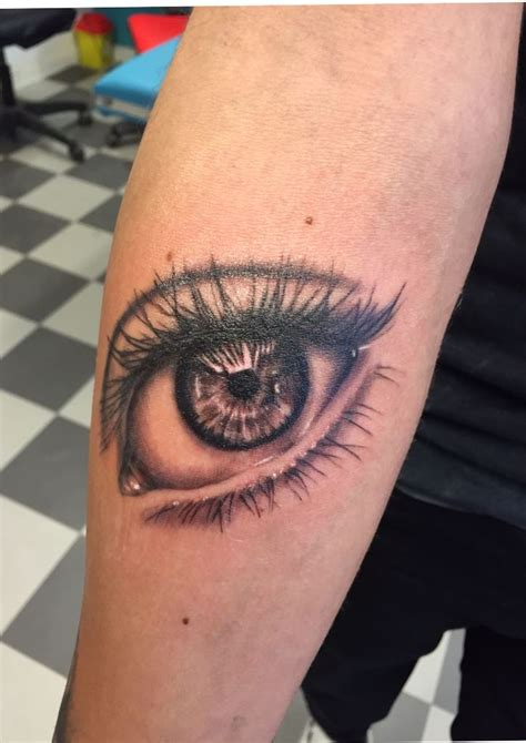 eye tattoo process 25 best ideas about left arm tattoos on pinterest