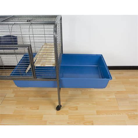 gabbia per coniglio nano gabbia per roditori spaziosa ed elegante 134x57x91 5 cm