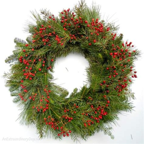 how to make a fresh evergreen wreath for christmas