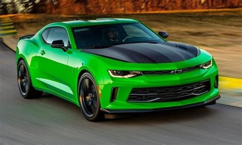 electric green camaro new chevy camaro 1le package announced for v6 v8 models
