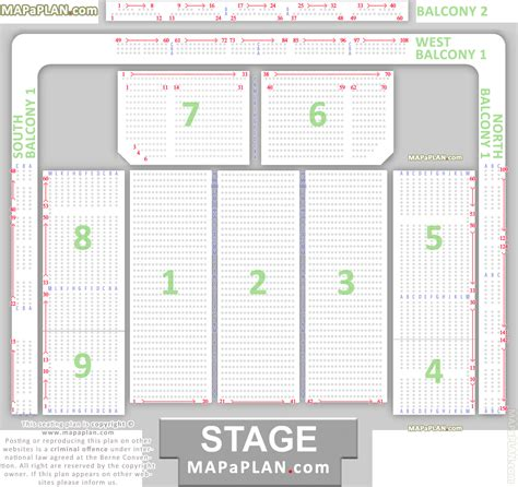 layout plan number hydro arena seating plan 01 detailed seat numbers chart