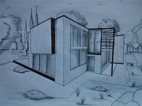 Make Your Dream House dibujo en perspectiva casa moderna 6 youtube