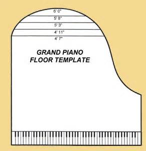 Piano Template by Grand Piano Floor Template