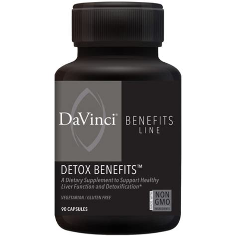 Detox International Laboratories by Davinci Laboratories Detox Benefits Liver Formula