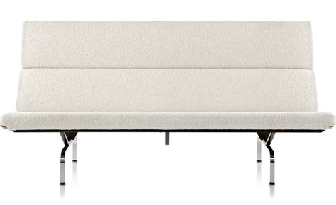 herman miller eames compact sofa eames 174 sofa compact hivemodern com
