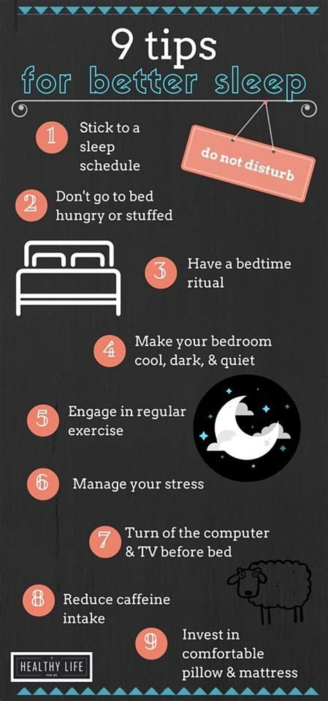 sleep better tips 9 tips for better sleep a healthy for me