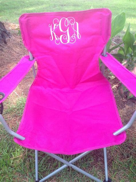 Monogrammed Chairs by 17 Best Ideas About Monogrammed Tailgate Chairs On