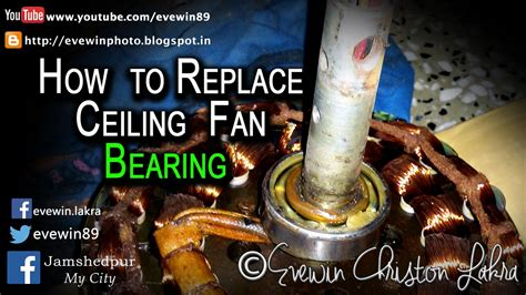 How To Replace A Ceiling Fan With A Light Evewin Lakra How To Replace Ceiling Fan Bearing In 5 Minutes