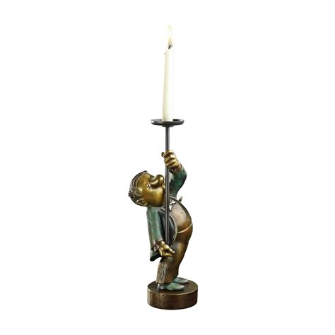 kerzenhalter bronze rp shop loriots kerzenhalter bronze
