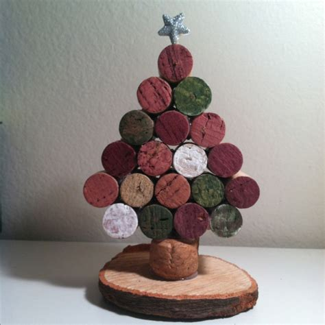wine cork christmas tree it s the holiday season