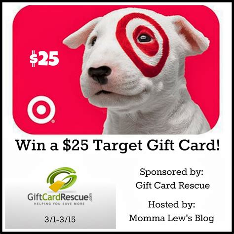 Win Target Gift Card - win a 25 target gift card from gift card rescue