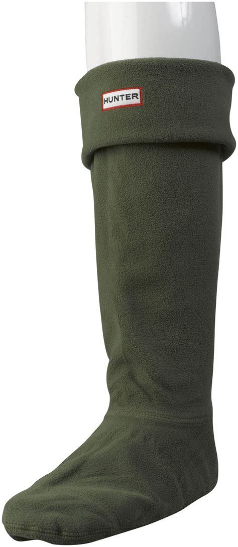 rubber boot liners fleece plain fleece tall original hunter welly socks unisex