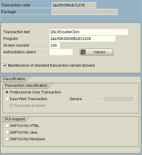 sap tutorial module pool sap tutorial create transaction code for abap module pools