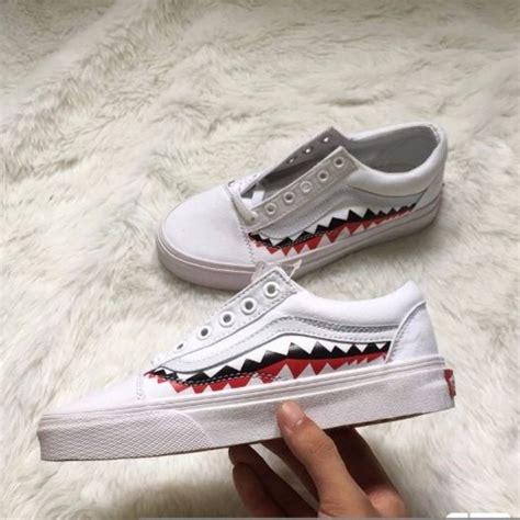 Sepatu Vans X Bape vans x bape skool s fashion shoes on carousell