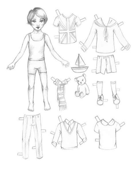 How To Make A Doll Using Paper - how to make paper dolls jam
