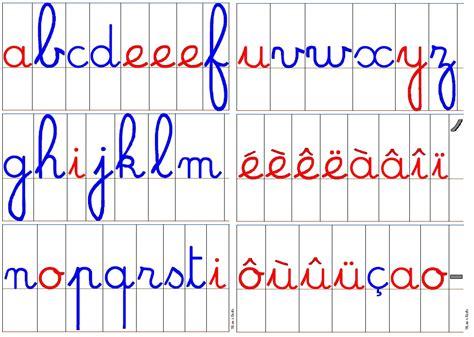 lettere corsive lettres mobiles et atelier des mots titline 224 l 233 cole
