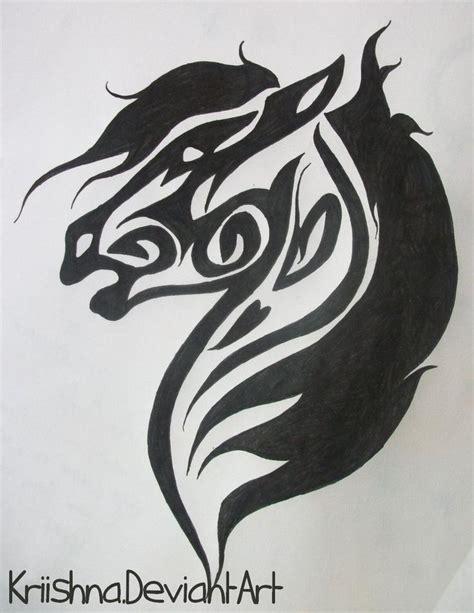 tribal tattoo horse best 25 tribal ideas on