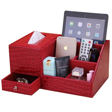 Home Office Desk Organizer 1 Multifunction Home Office Desk Organizers Desk Storage Box Cosmetic Organizers Box