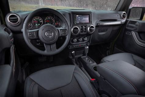 standard jeep interior 2017 jeep wrangler unlimited overview the news wheel