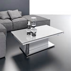 table basse relevable ares glass