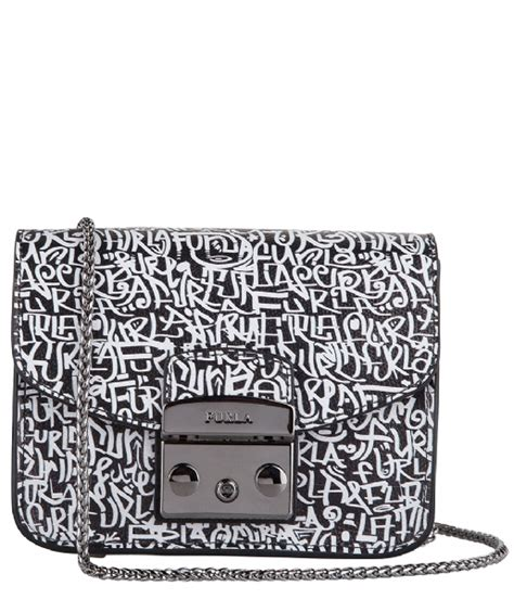 Tas Furla Metropolis God by Metropolis Mini Crossbody Ares St Graffiti 774254 Furla