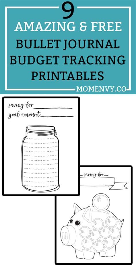 printable budget journal 9 amazing free budget planner printables bullet