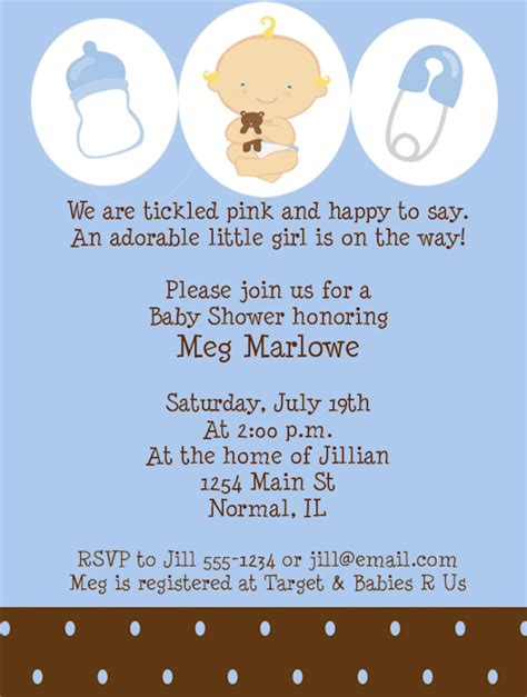 Baby Shower For Boys by Baby Shower Invitations For Boys Best Baby Decoration