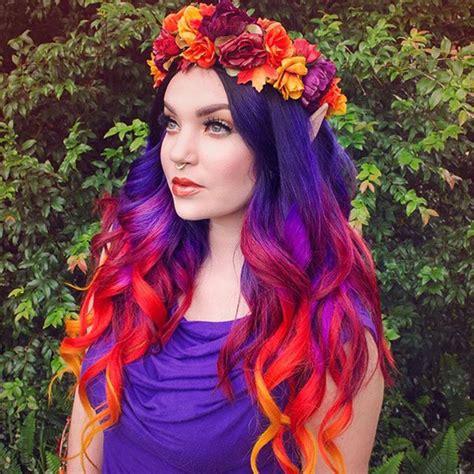 colorful short hair styles red ombre hair color archives vpfashion vpfashion