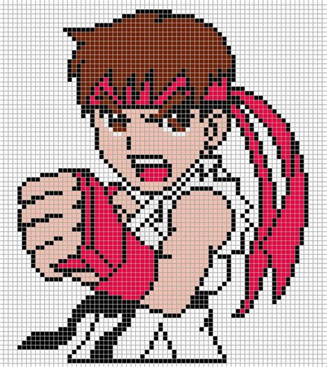 minecraft anime pixel templates 17 best images about pixel on perler bead