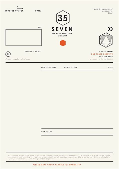 invoice ui design 12 best invoice quote layouts images on pinterest