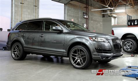 Audi Q7 Rims by Audi Q7 Wheels And Tires 18 19 20 22 24 Inch