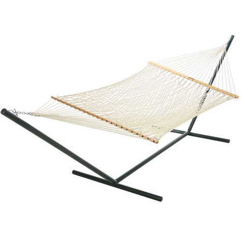 pawleys island polyester rope hammock