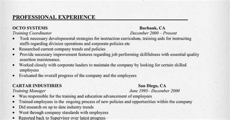 letter of recommendation for a exle coordinator resume exle 1415